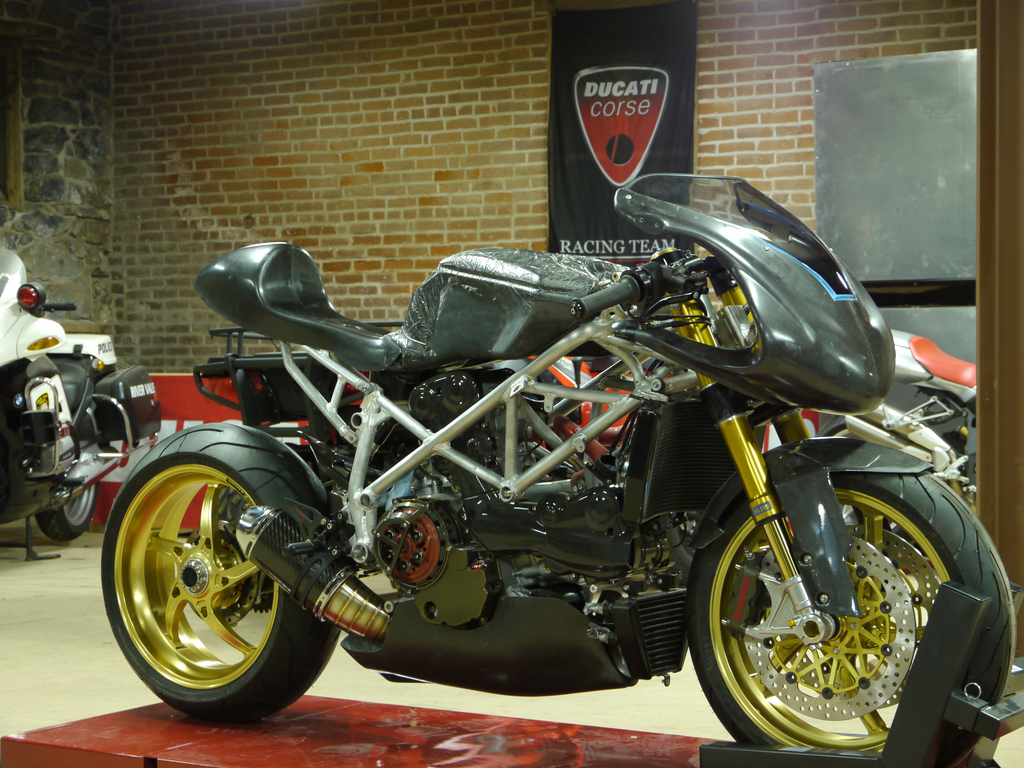 That Motorcycle Show!: R.A.D. in the U.S.A Radical Ducati build in