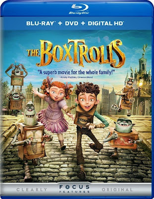 The Boxtrolls 2014 Dual Audio [Hindi 5.1 Eng 5.1] BRRip 720p 900mb