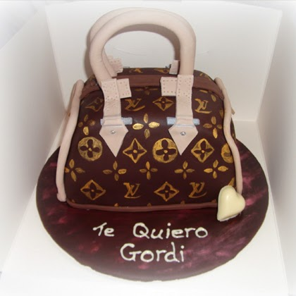 Louis Vuitton Hand Bag Cake Tutorial