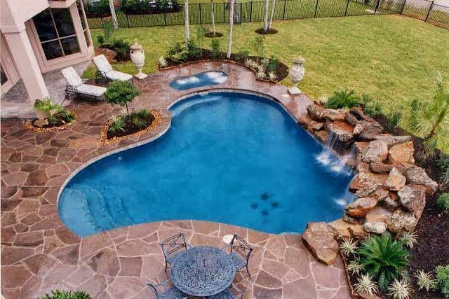 desain kolam renang minimalis lebih gambar