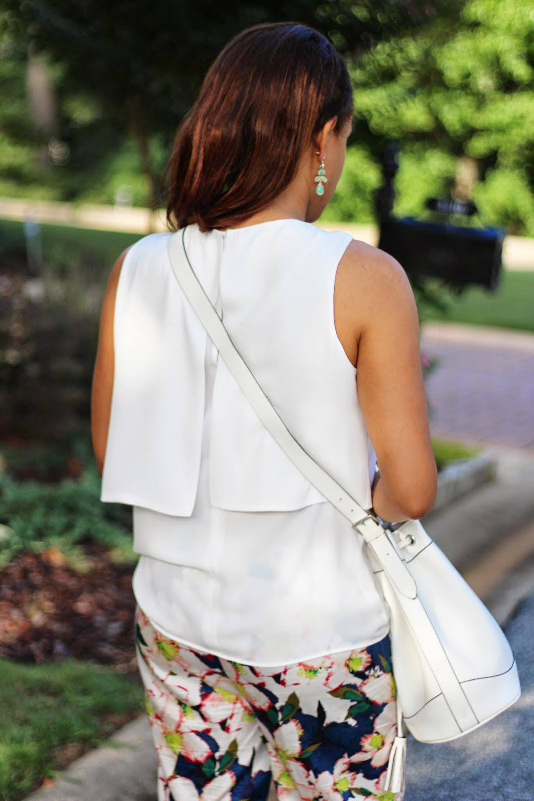 White-Zara-pleated-top