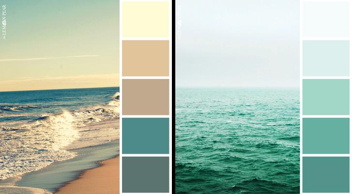 Paleta de colores marinos imagui for Paletas de colores para pintar casas