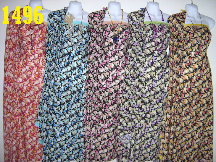 EC 1496: ENGLISH COTTON 100% BY Anr, 4 METER, 5 COLORS