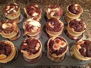 Brownie Ice Cream Cake Cones