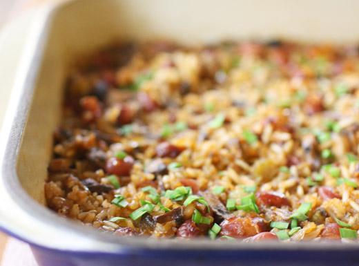 lisa is cooking: Vegan Cajun-spiced Dirty Rice