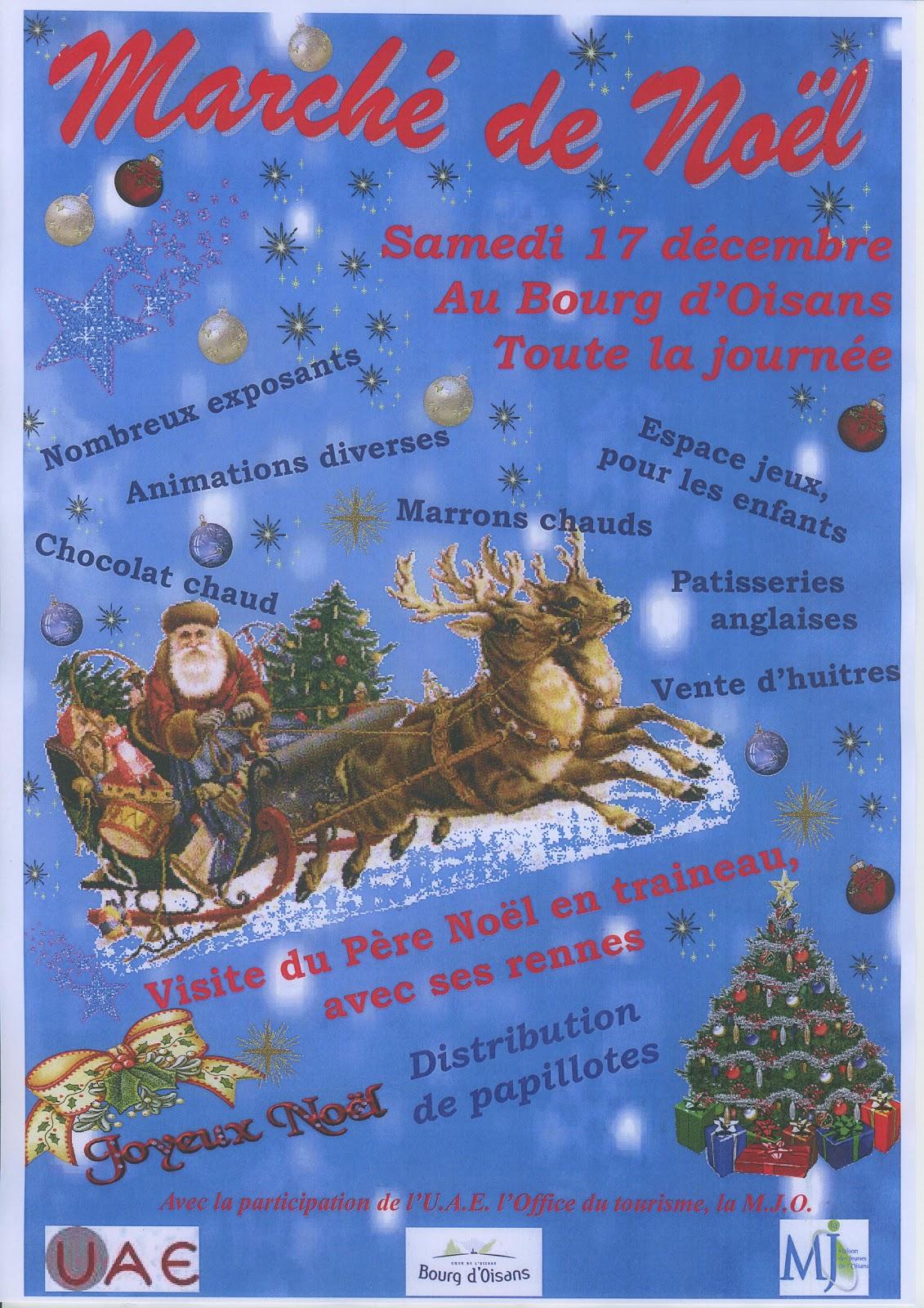 News de l 39 office de tourisme bourg d 39 oisans marche de noel - Bourg d oisans office tourisme ...