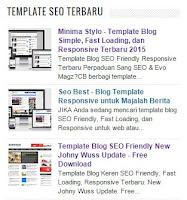 Posting Terbaru plus Gambar Thumbnail