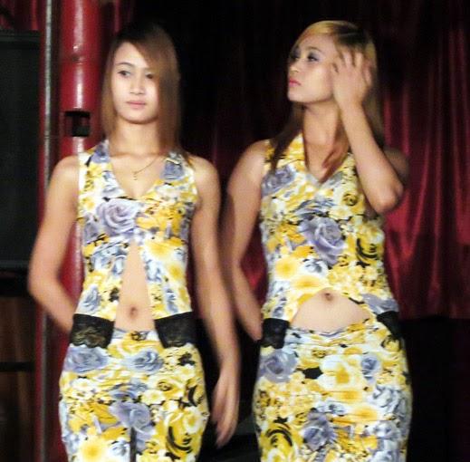 Asian beauties in Yangon