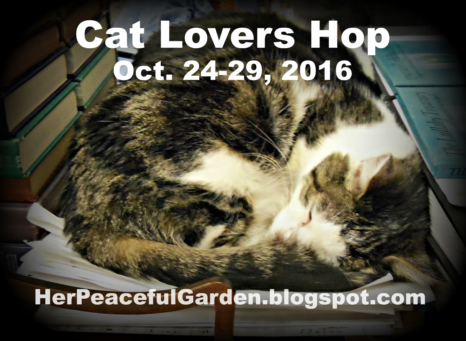 Get Ready for the 2016 Cat Lovers Hop by snagging this badge for your blog!!