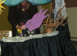 Waldorf, Monatsfeier, Kindergarten, März, Puppenspiel, Zwergentheater,