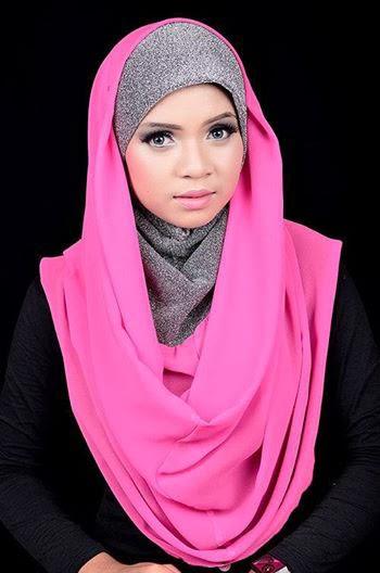 Hijab visage rond