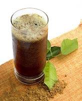 Bebidas com guaraná em pó