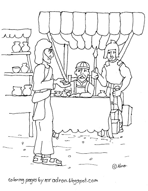 Church Coloring Pages For Preschool