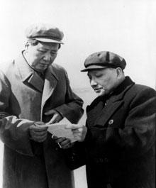 """""""Como no analizar el caso Lin Biao 2 - Comentarios a una Nota del PC de Bolivia m-l-m"""" - texto publicado en marzo de 2013 por el blog Crítica Marxista-Leninista Mao+y+Deng+Xiaoping+-+1959"""