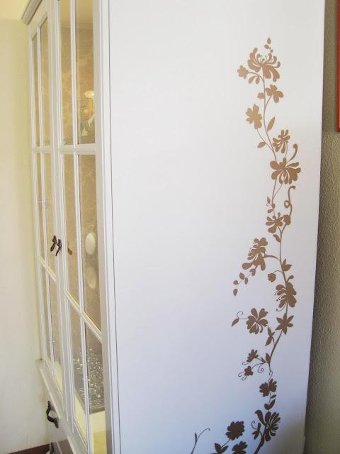 Ikea hack antes y despu s del armario birkeland de - Forrar armario empotrado ikea ...