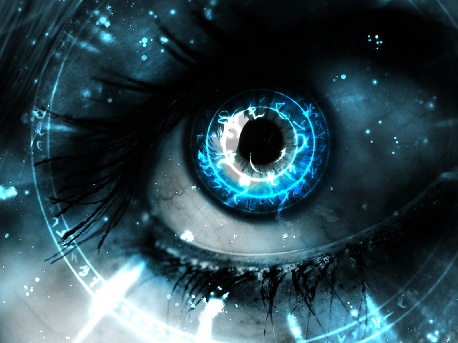 The 3D Eye Wallpapers Desktop