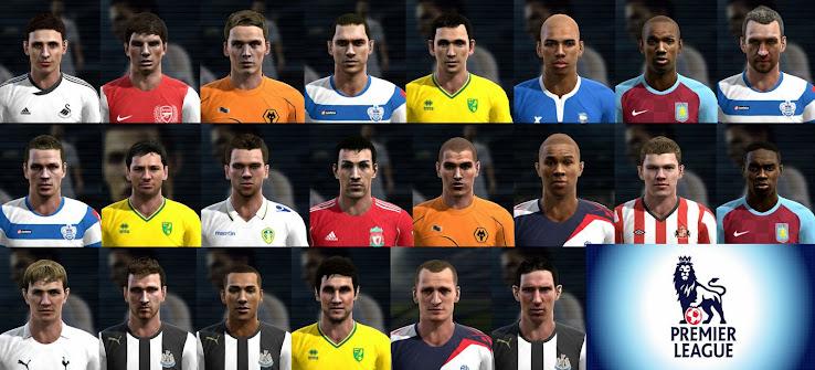Большой пак лиц игроков ангийского Premier League & Championship.Список