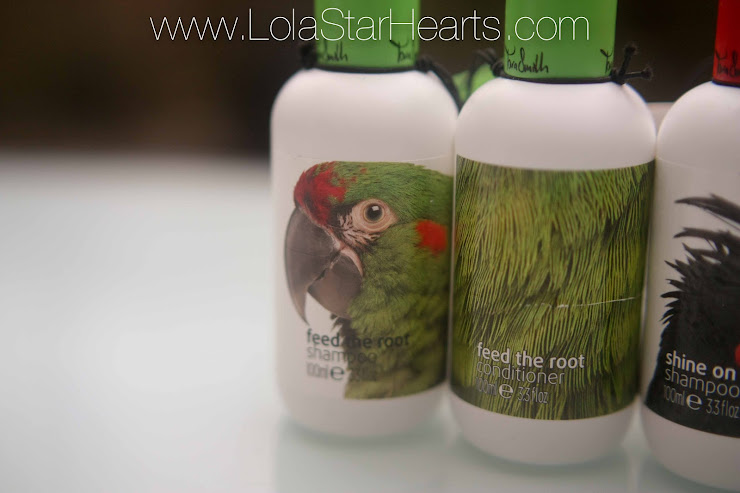 tara smith vegan hair care range review swatch photo sulphate free shampoo shine on feed the root conditioner