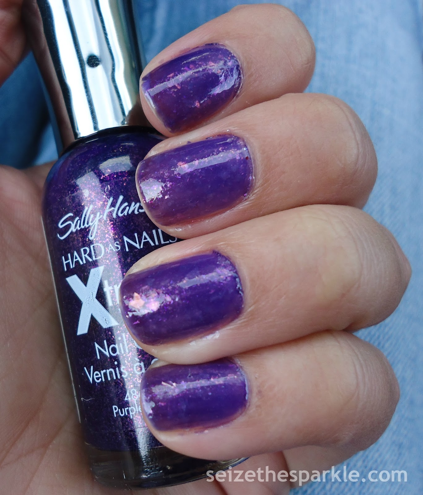 Sally Hansen Purple Pizazz, FingerPaints Vivid Reflection