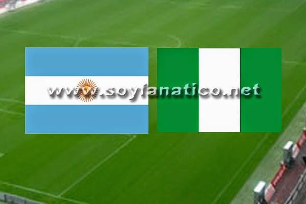 Argentina vs Nigeria Brasil 2014
