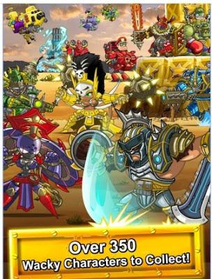 Game RPG Teka teki Offline Puzzle Trooper APK Android