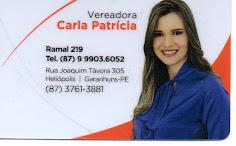 VEREADORA CARLA PATRÍCIA