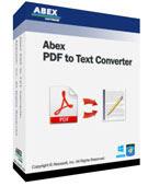Abex PDF to Text Converter - Chuyển đổi PDF sang văn bản TXT