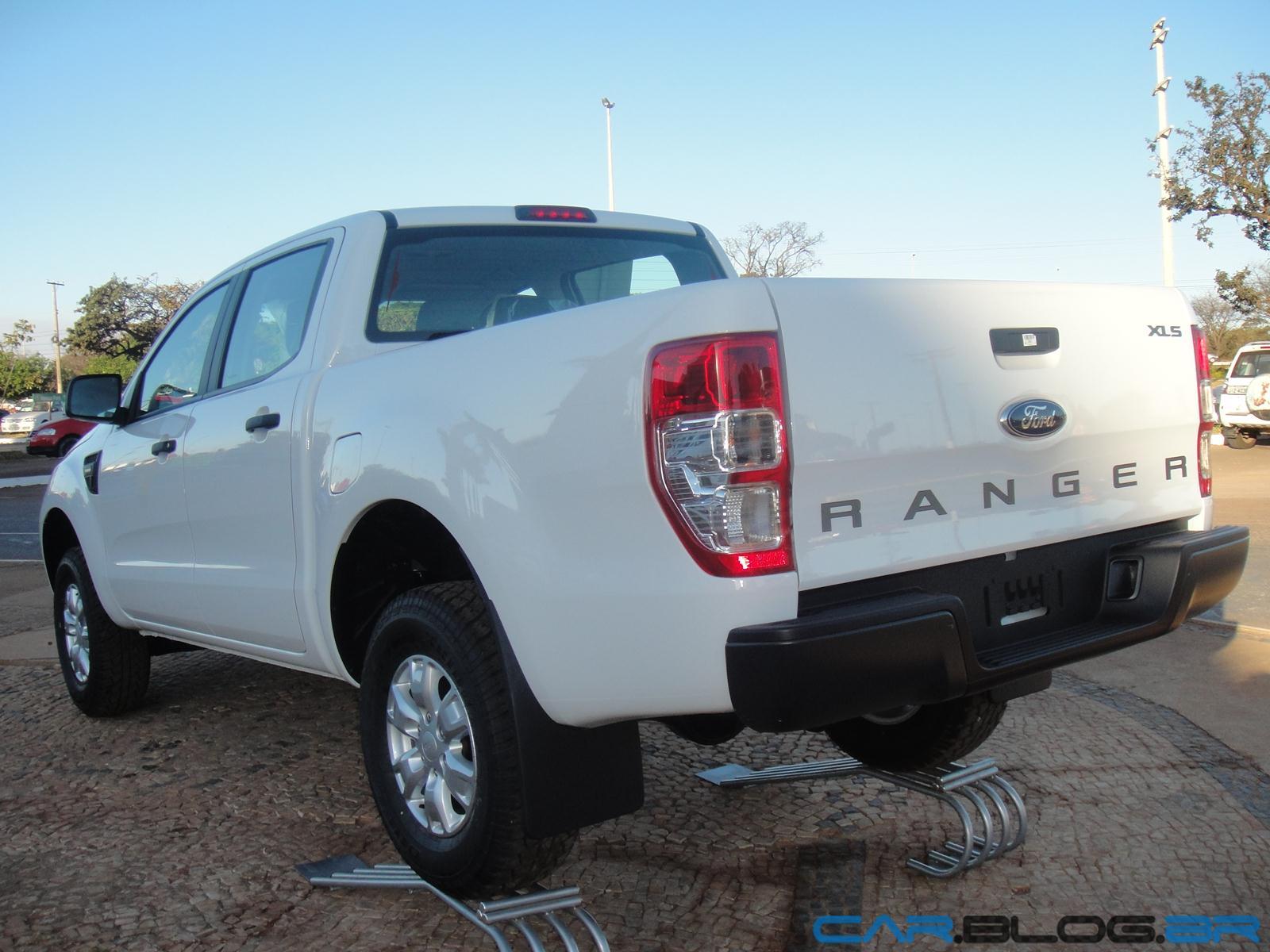 Nova Ford Ranger XLS Cabine Dupla 2.5 Flex 2013: fotos ...