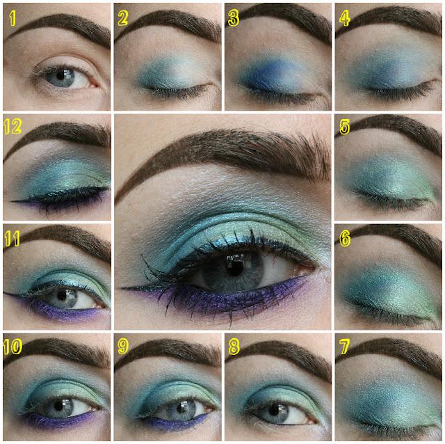 Mermaid eye look pictorial