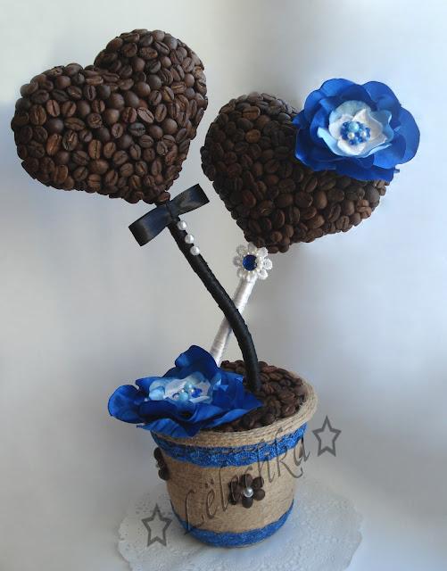 Как сделать топиарий из кофе с фото 621
