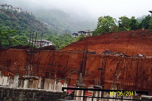 lavasa broken hillside