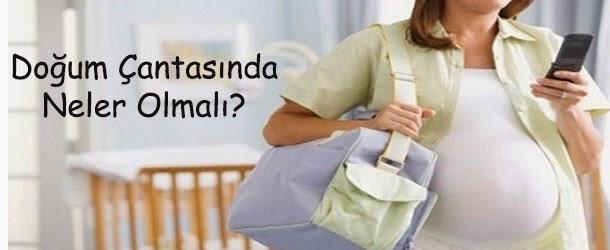 Doğum Çantanızda Neler var?