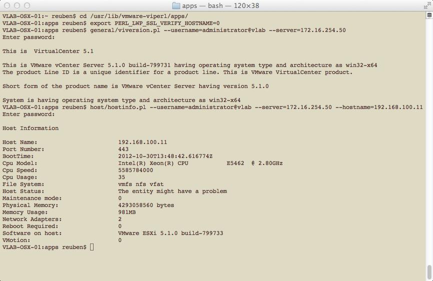 Virtuin: Installing the vSphere SDK for Perl on OS X