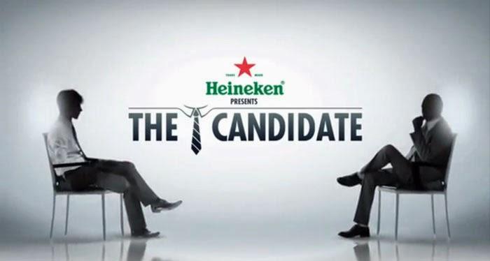 Heineken, The candidate, El candidato, entrevista de trabajo