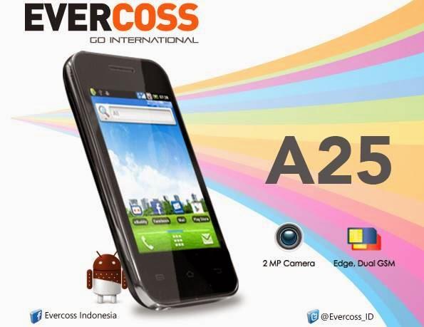 Handphone Evercoss A25