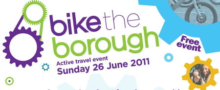 Bike the Borough logo on Vassall View.com