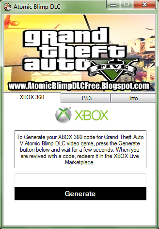 Grand Theft Auto V Redeem Code for Xbox – Free Download. By Phantom on November 2, on XBOX gta 5 for xbox Tweet. No Comments. If you are looking for the way to get free Redeemable Codes of GTA V for Xbox You can easily get the code from our site.