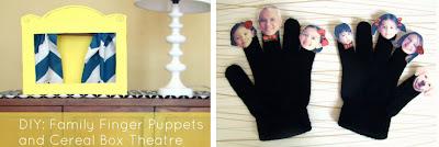 Cómo hacer un teatro de marionetas en Recicla Inventa