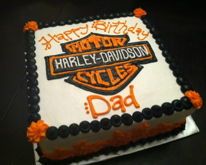 Sweet Treats By Susan Harley Davidson Birthday Cake