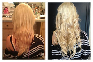 Hair extensions by jaclynn kate hair treats hair extensions this is my before after of having the hair treats extensions put in my hair pmusecretfo Images