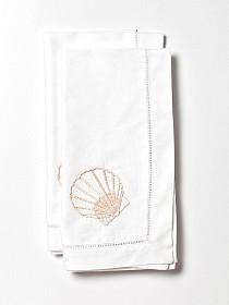 scallop napkins