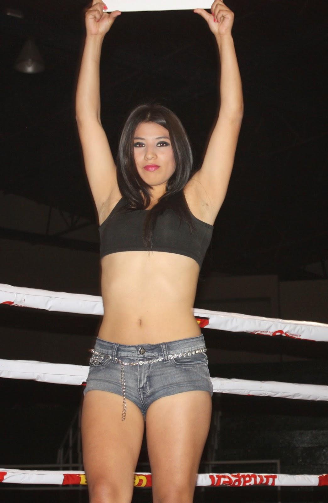 Boxeo femenino lucha libre