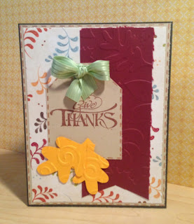 Cricut, Doodlecharms, Thanksgiving Card, Divine Swirls, Leaves