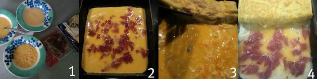 Tortilla hecha enrollada