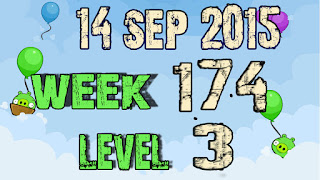 Angry Birds Friends Tournament level 3 Week 174