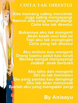 Cinta Tak Direstui kumpulan motivasi stia aan yogyakarta