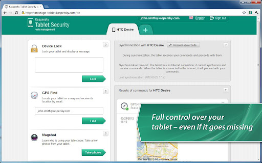 Kaspersky Tablet Security apk