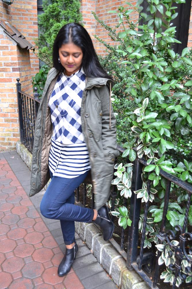 Astoria Heels Parka and rain jacket