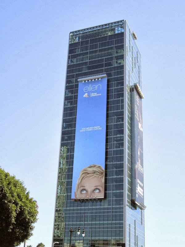 Giant Ellen season 11 billboard