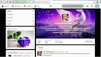 Twitter Update Tampilan Baru 2014